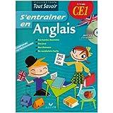 S'entraîner en Anglais CE1 (1CD audio)