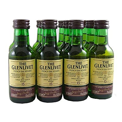 Glenlivet Reserve 15 year old Single Malt Whisky 5cl Miniature - 12 Pack from Glenlivet