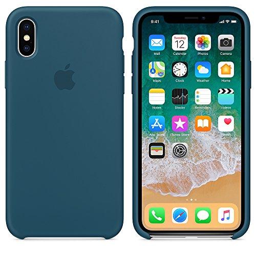 El último Verano iPhone X Funda, Slim Líquido de Silicona...