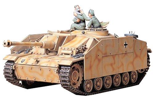 TAMIYA 300035197 - 1:35 WWII Sonderkraftfahrzeug 142/1 Sturmgeschütz IIIG (2)