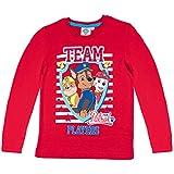 Paw Patrol Chicos Camiseta mangas largas 2016 Collection - Rojo