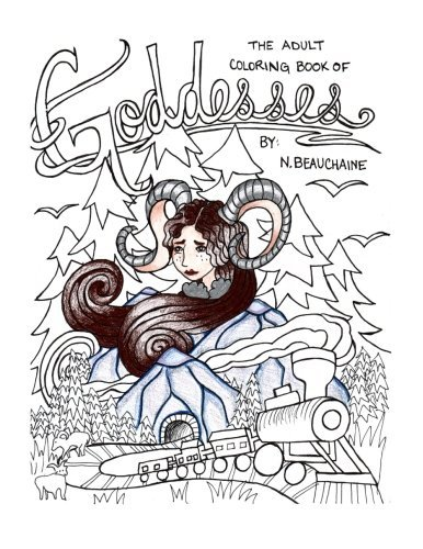 Goddesses: An Adult Coloring Book