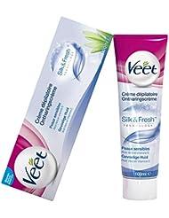 Veet - Crème Dépilatoire - Peaux Sensibles - 100 ml - lot de 2