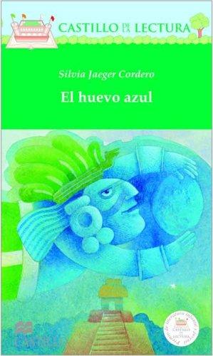 El Huevo Azul/The Blue Egg (Castillo De La Lectura Verde/Green Reading Castle) por Silvia Jaeger Cordero