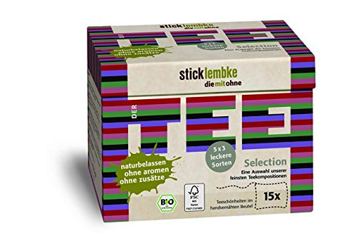 35.25 (Stick & lembke BioTee-Schönheiten 'Selection Box' 3 x 5 Sorten, 15 Beutel 35,25 g)