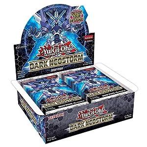Yu-Gi-Oh! Dane - Caja de 24 Paquetes de Refuerzo de neotormenta Oscura