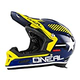 O'Neal Fury RL Helm Afterburner Fahrrad, Men, Fury Rl Afterburner, blau, M (57-58 cm)