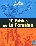 10 fables de La Fontaine - Pack de 6 exemplaires