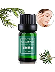 SET-SAIL Teebaum essentielle Öl-Entsalzung Reparatur Akne-Druck, Fußmassage beruhigende Aromatherapie ätherisches Öl