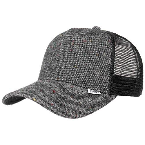DJINNS - Felt Rubber - Trucker Cap Meshcap Homme Chapeau Casquette de Baseball Caps