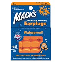 MACK'S? Pillow Soft Earplugs Kids Size (6 pairs)