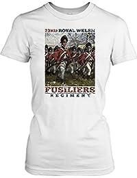 23rd Royal Welsh Fusiliers Regiment Ladies T Shirt