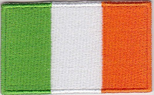 tch Irland Fahne Flagge - 6 x 3,5 cm ()