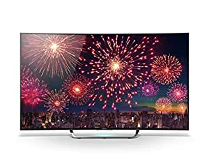 Sony KD55S8005CBAEP 138,8cm (55 Zoll) Curved Fernseher (Ultra HD, Triple Tuner, 3D, Android TV)