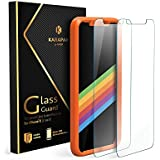 iPhone X Panzerglas Schutzfolie [2 Stück] Anker KARAPAX GlassGuard Glasfolie für iPhone X mit Double Defense Technologie aus gehärtetem Glas