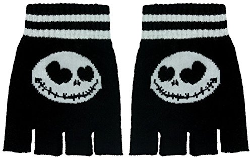 The Nightmare Before Christmas Fingerlose Handschuhe Jack (Jack Handschuhe Skellington)