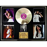 SELENA GOMEZ/CADRE GEANT DISQUE D'OR CD, VINYLE & PHOTOS/EDITION LIMITEE /CERTIFICAT D'AUTHENTICITE/STARS DANCE