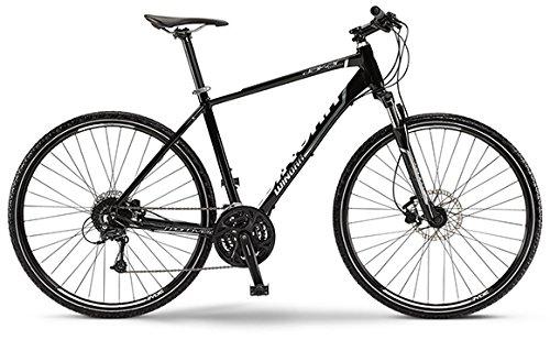 "Winora Crossbike Dakar 28\"" schwarz/polish 2015 Herren 27-Gang Shimano Deore (Rahmenhöhe 51)"