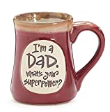 Best Burton Dad Mugs - 1 X Im A Dad Superpower Burgundy 18 Review