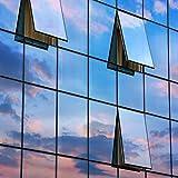 300 x 91 cm Spiegelfolie kratzfest Sonnenschutzfolie UV Schutz Sichtschutzfolie 99% UV-Schutz selbstklebend - 3