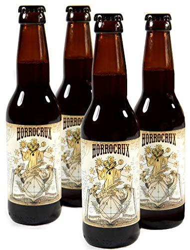 Harry Potter PACK 4 Cervezas de Mantequilla con Alcohol Horrocrux