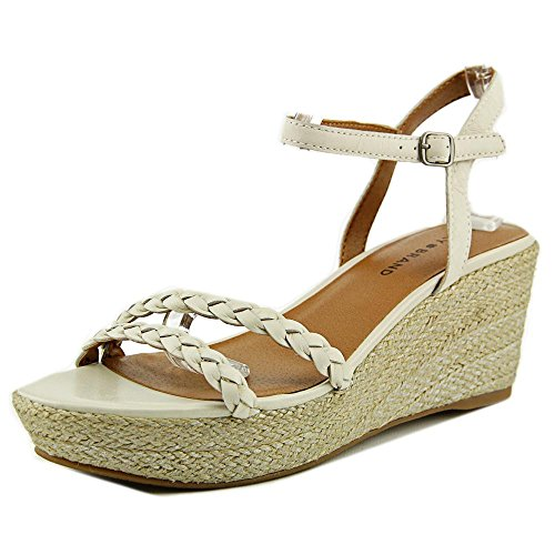 lucky-brand-lyall-femmes-us-85-ivoire-sandales-compenses