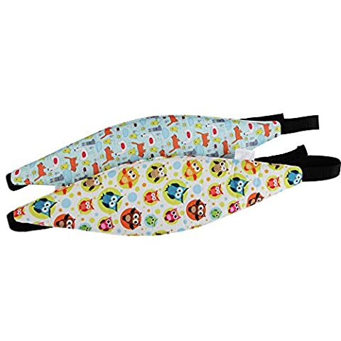 kakiblin Baby Head Support Kinderwagen Buggy Autositz Sleep Safety Gürtel