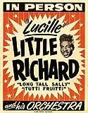 Poster World Ltd Little Richard - ANNÉES 1960 Rétro Concert Affiche - A2...