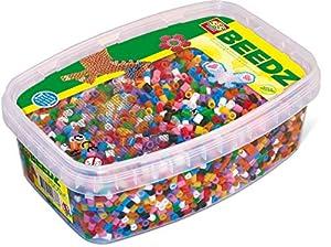 SES Creative Caja de Mezcla de 7000 Cuentas para Planchar básicas para niños SES, Multicolor (00778)