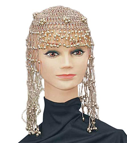 Bristol Novelty Ladies 20'S 70'S ABBA Cleopatra EGYPTAIN Headpiece Fancy Dress - Cleopatra Fancy Dress Kostüm