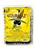 Durmaz Türkische schwarze Oliven Olives Masline - Siyah Özel Zeytin 800 g