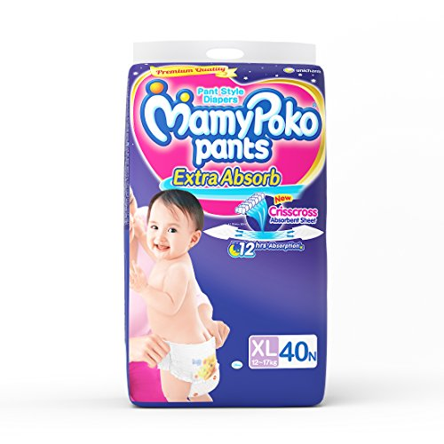 Mamy Poko Pant Style Diaper Extra Large (40 Count)