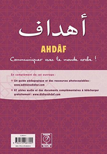 Ahdaf A1 - Livre + Cahier