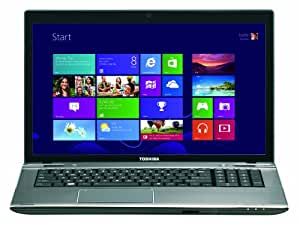 "Toshiba P870-333 Ordinateur portable 17"" (43,18 cm) Intel Core i7 3630QM 1,33 GHz 1 To 8192 Mo NVIDIA GT630M Windows 8 Aluminium"