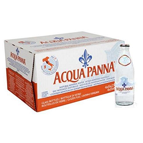 24 Bottiglie ACQUA PANNA NATURALE 0.250 VETRO A PERDERE