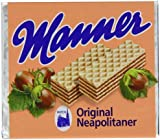 Manner Original Neapolitaner Wafers 75 g (Pack of 12)