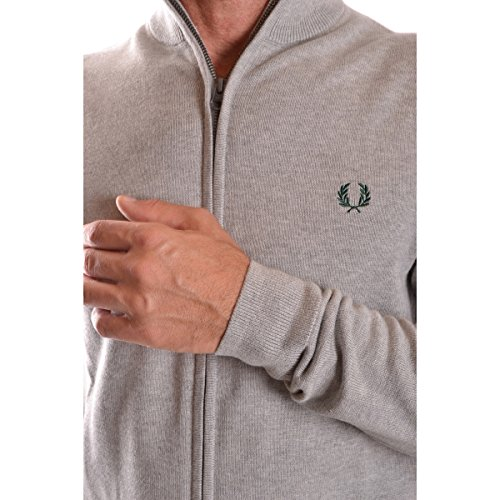 Cardigan Fred Perry Gris