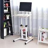 Soges Mesa de Ordenador Portatil con Ruedas Sofá Mesa Mesas XG01-MP