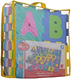 Bloomy Alpha-Numeric Play Mat, Multi Col...