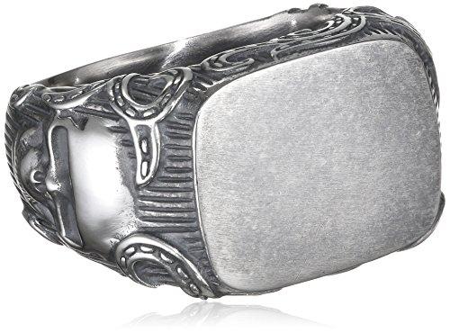 caï men Herren-Ring ROCKABILLY 925 Silber Gr. 66 (21.0) - C4165R/90/00/66