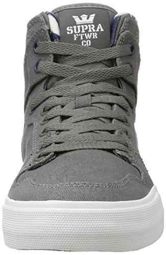 Supra Supravaider - Baskets Montantes Grises (gris-blanc)