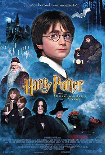 Impresión de póster de la película Harry Potter y la piedra filosofal 'A4, se envía en 24horas de primera clase