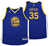 adidas Kevin Durant Golden State Warriors Swingman Jersey, Herren, Blau, 4X-Large