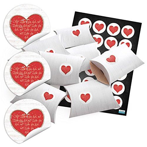 48-kleine-geschenkschachteln-holz-optik-weiss-mit-aufkleber-mit-liebe-fur-dich-mit-rotem-herz-text-o