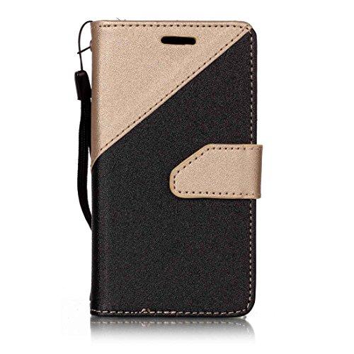 Nancen New Housse coque Samsung Galaxy J1 mini Prime Bien Haute Qualité PU Cuir Flip Étui Coque de Protection Wallet / Portefeuille Case Cover Housse - Avec Carte de Crédit Fente, Fermeture Magnétique, pour protéger votre téléphone,