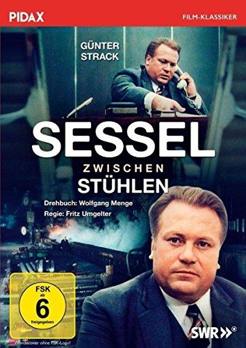 Sessel zwischen Stühlen/Meisterwerk von Kultautor Wolfgang Menge mit Günter Strack (Pidax Film-Klassiker)