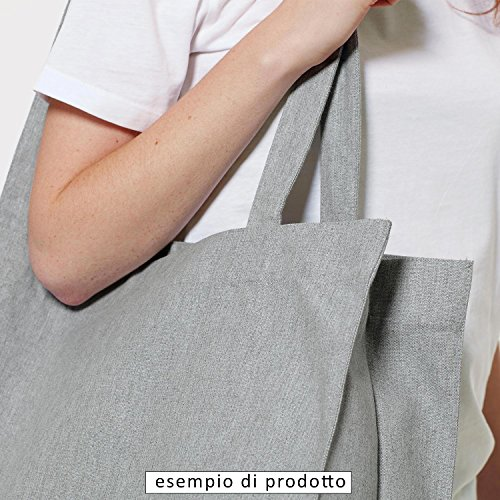 Premium Shopping Bag bag borsa sportiva borsa di stampa del sayonara bitch zaino juta Shopper Sport Fashion Grigio