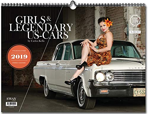 Girls & legendary US-Cars 2019: Wochenkalender (American Girl Doll Videos)
