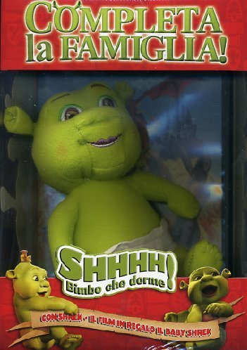 shrek + baby shrek (ltd) (dvd + pupazzo) box set dvd Italian Import by animazione (Shrek Babys)