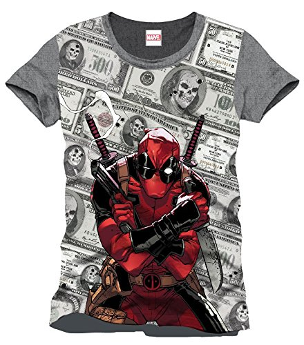 Deadpool Dollars T-Shirt multicolore S